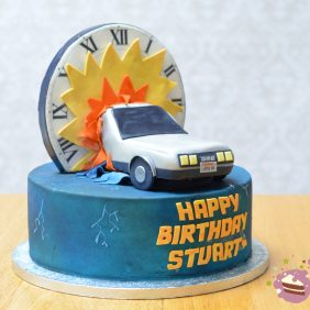 Back To The Future 30th birthday cake